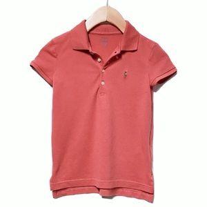 NWOT Ralph Lauren Girls Sunrise Polo Shirt
